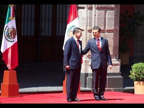 Ceremonia de Bienvenida al señor Ollanta Humala, Presidente de la República del Perú