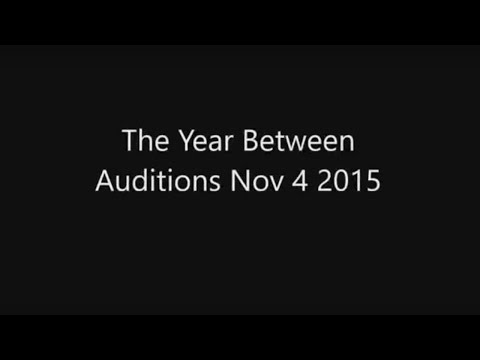 The Year Between - open auditions