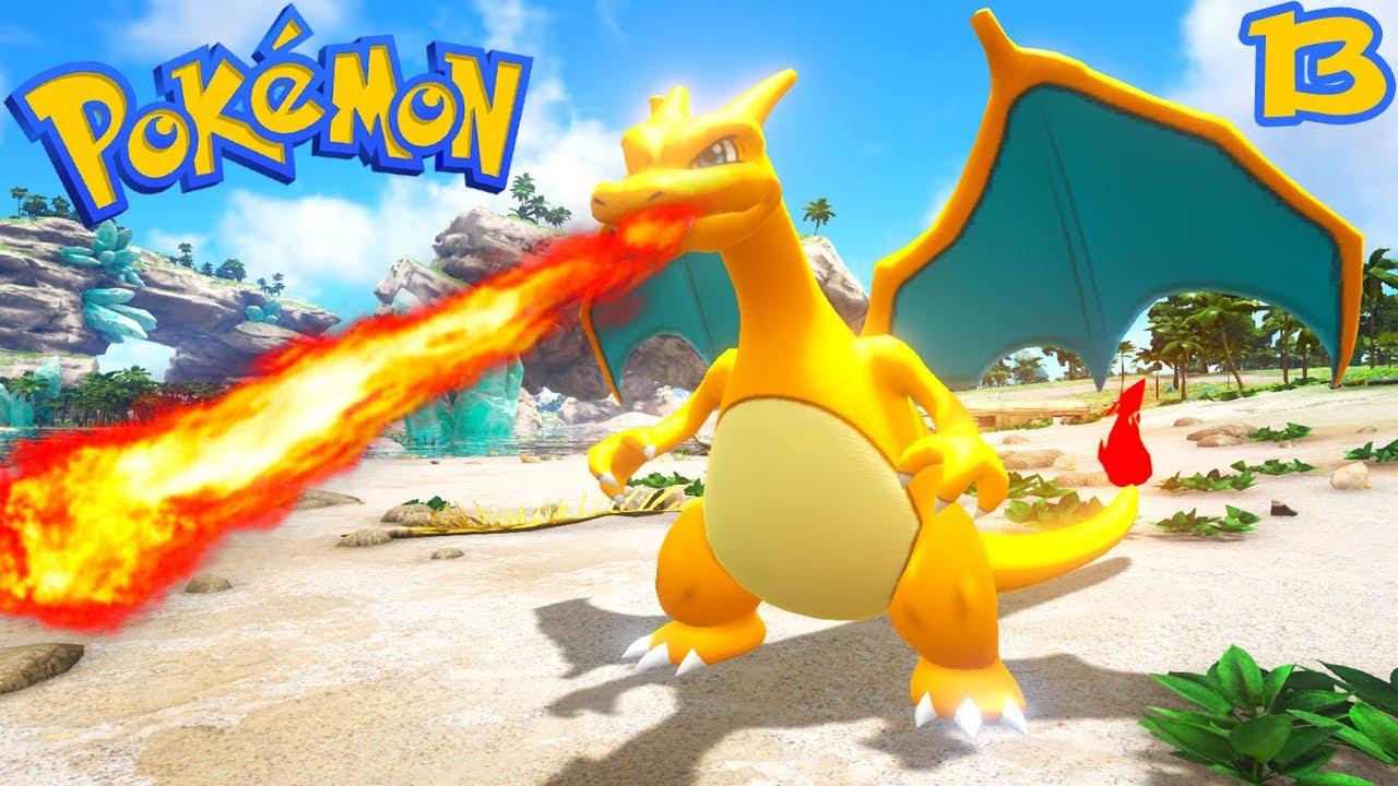 Ark Pokemon Ep6 Mewtwo X Dracaufeu X Un Inconnu
