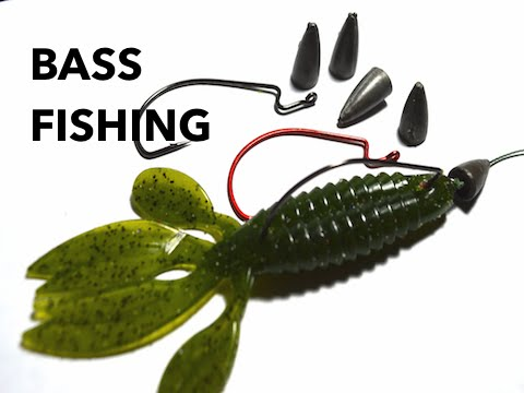 How to rig a texas rig bass fishing youtube for Texas rig bass fishing