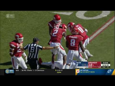 Arkansas vs. Tulsa 2018