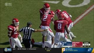 Arkansas vs. Tulsa 2018