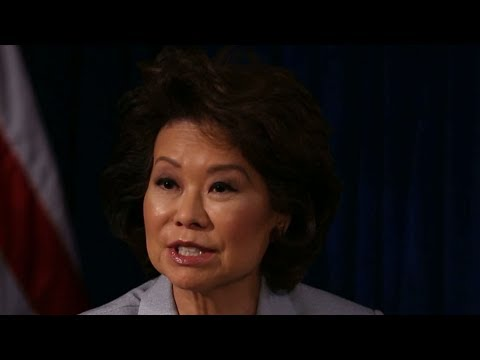 Elaine Chao discusses growing presence and influence of Asian-Americans in US