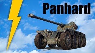 Pojazd kołowy wykręca głowy ☺ Panhard w akcji