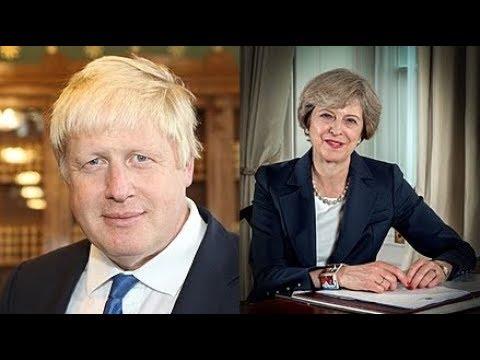 Clarey Test on Boris Johnson & Teresa May