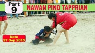(9) Nawan PInd Tapprian (Nawanshahr) Kabaddi Touranament 27 Sep 2015
