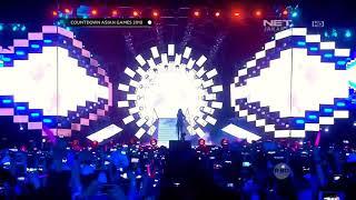 170818 Taeyeon - Fine Live in Jakarta Countdown Asian Games 2018