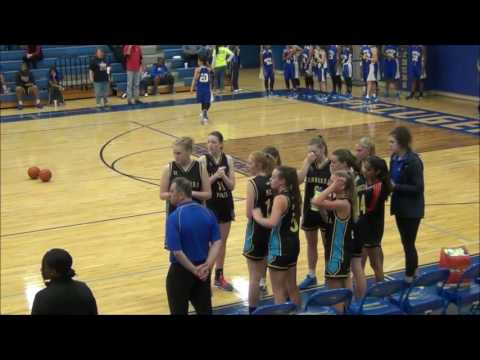 Callie Bourne,  2018 College Basketball Prospect, Highlights