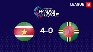 📹Check out the best moments of Suriname's 4-0 win over Dominica