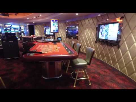 Royal Caribbean - Harmony of the Seas - Deck 4 Casino & Lounges Tour