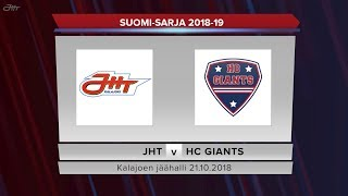 JHT - HC Giants 21.10.2018 maalikooste