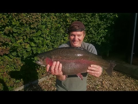3 Monster Rainbows On The Fly   Testwood Lakes Hampshire