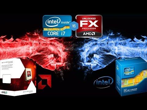 AMD FX 6300 Black Edition VS Intel i7 3770/60FPS