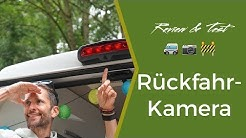 Wohnmobil Rückfahrkamera - fan4van testet Dometic und Alpine