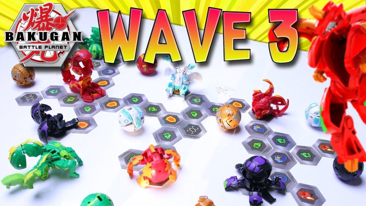 Bakugan Ultra DRAGONOID Battle Planet Battle Brawlers Bakugan Pack Wave 3 2019