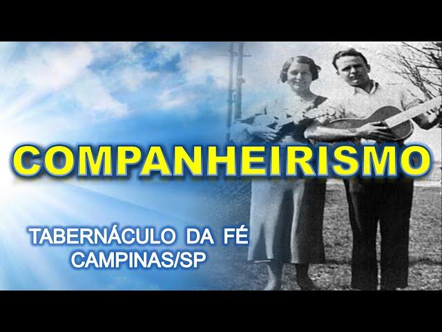 13.12.2015 - Companheirismo - Tabernáculo da Fé Campinas/SP
