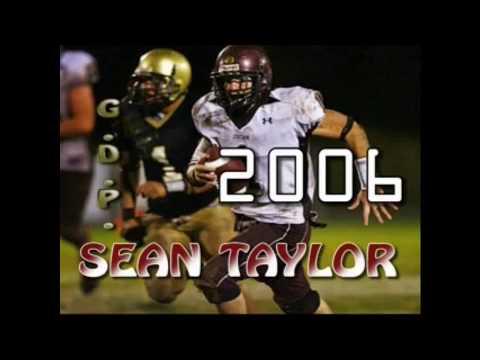 SEAN TAYLOR 2006 SENIOR FOOTBALL HIGHLIGHTS Jordan High School
