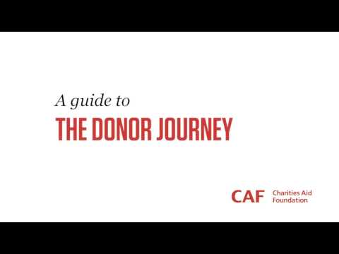 CAF Donate - Donor Journey | Fundraising | Charities Aid Foundation