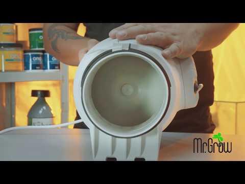 #5 Вентиляция: Вентиляторы и угольные фильтра / Mr.GrowChannel