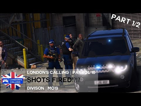 London's Calling RPC | MO19 | Patrol 16.1 - 15yr With GUN!?!?