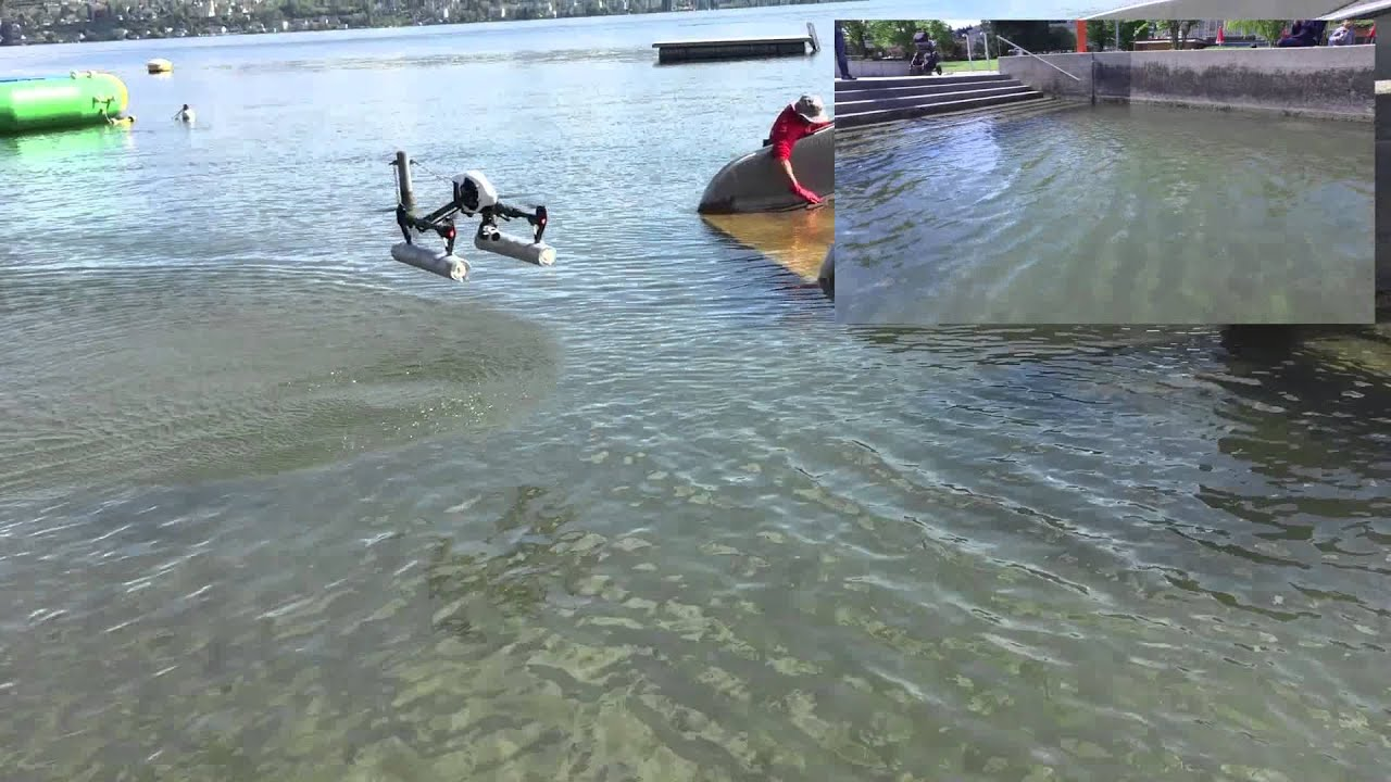 Dji Inspire 1 Water Landing 2015 Youtube