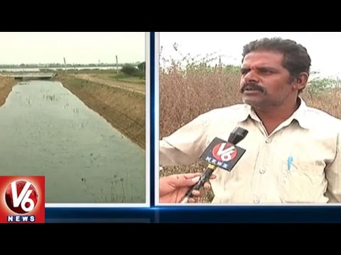 Irrigation Minister Harish Rao To Release Water From Singur Left Canal | V6 News