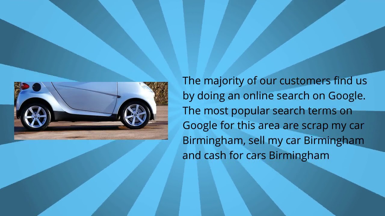 Cash For Cars Online Quote Quick Car Sale And Free Scrap Car Quote In Birmingham  Youtube