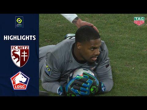 Metz Lille Goals And Highlights
