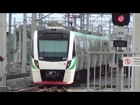 Trains at Mandurah - Transperth