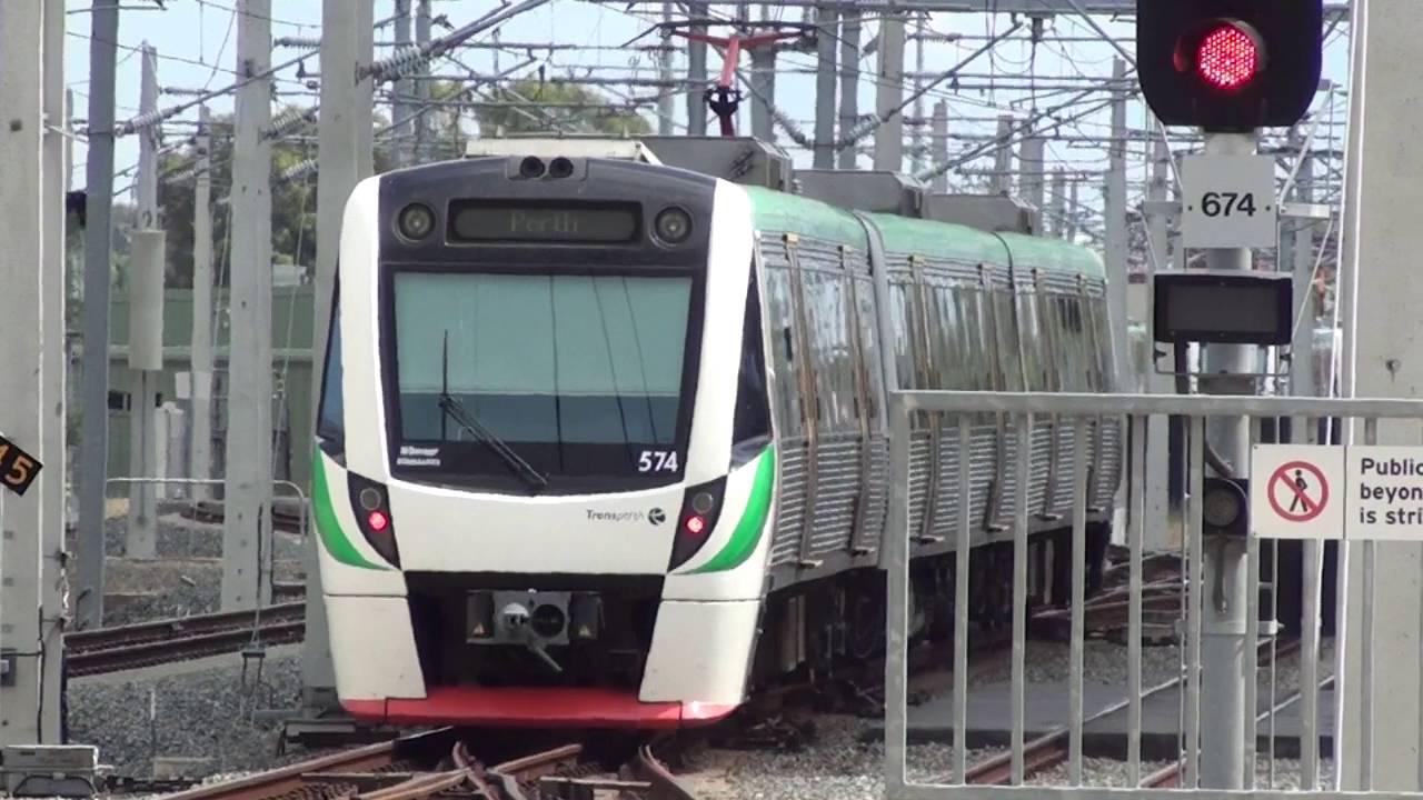 Trains At Mandurah - Transperth - Youtube-2339