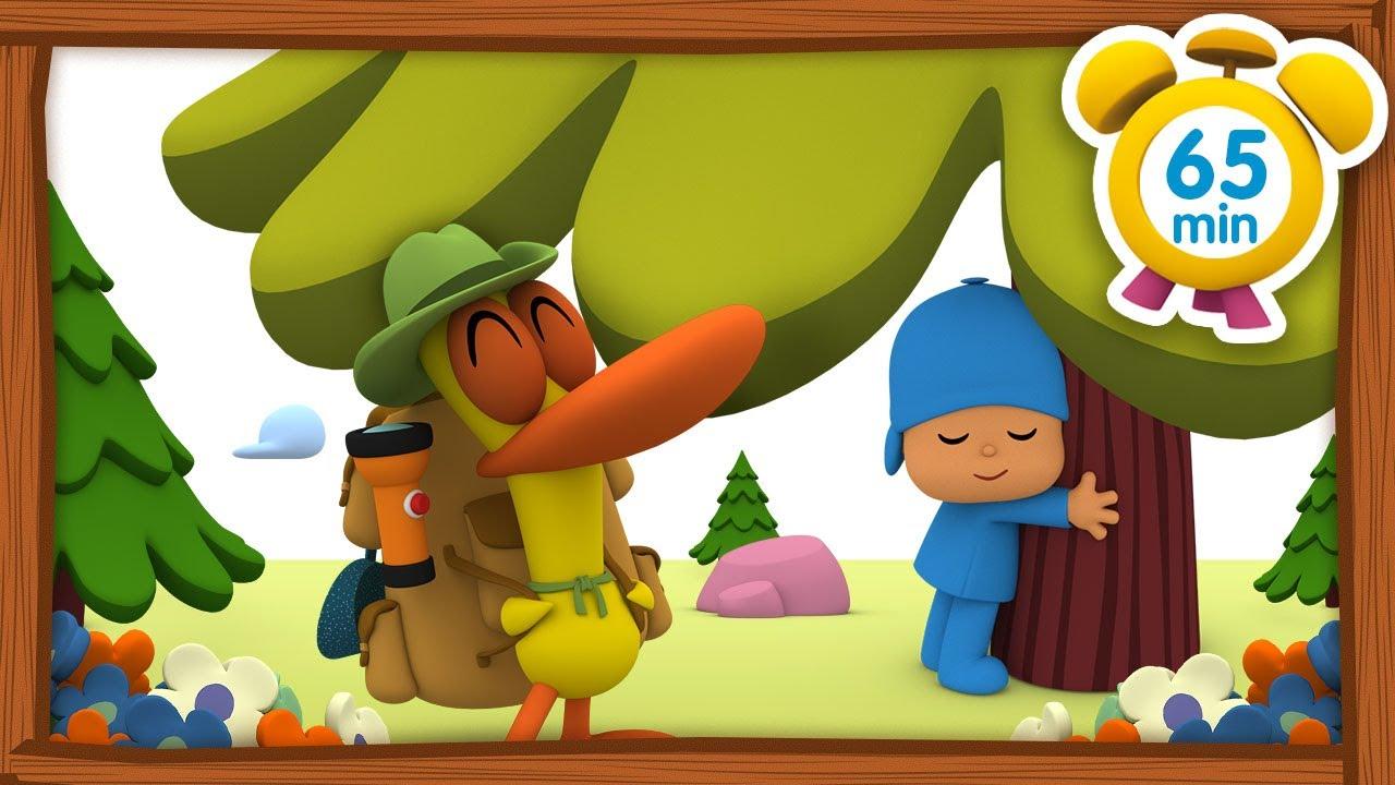 🏕️  POCOYO ITALIANO- Vacanze in Campagna [65 min] | VIDEO e CARTONI ANIMATI per bambini