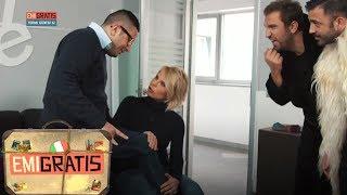 Emigratis 3 - Michele incontra Maria De Filippi grazie a Pio e Amedeo
