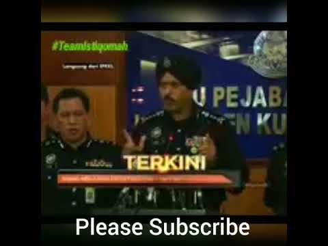 Kes Bakar Pusat Tahfiz Darul Quran Kenyatan Media Ketua Polis Kuala Lumpur