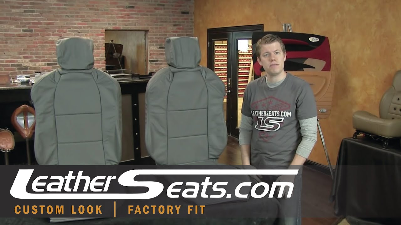 acura tl replacement leather seat covers youtube
