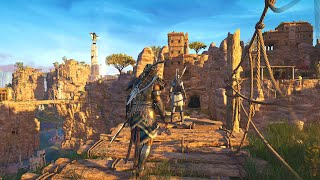 Assassin's Creed Odyssey - Perfect Stealth Kills & Isu Warrior Combat