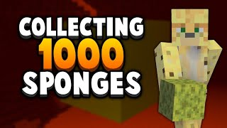 The Quest For 1000 Minecraft Sponges