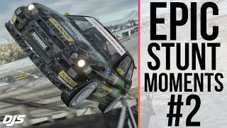 Forza Horizon 4 - EPIC STUNT MOMENTS #2