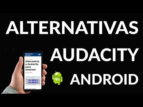 Alternativa a Audacity para Android