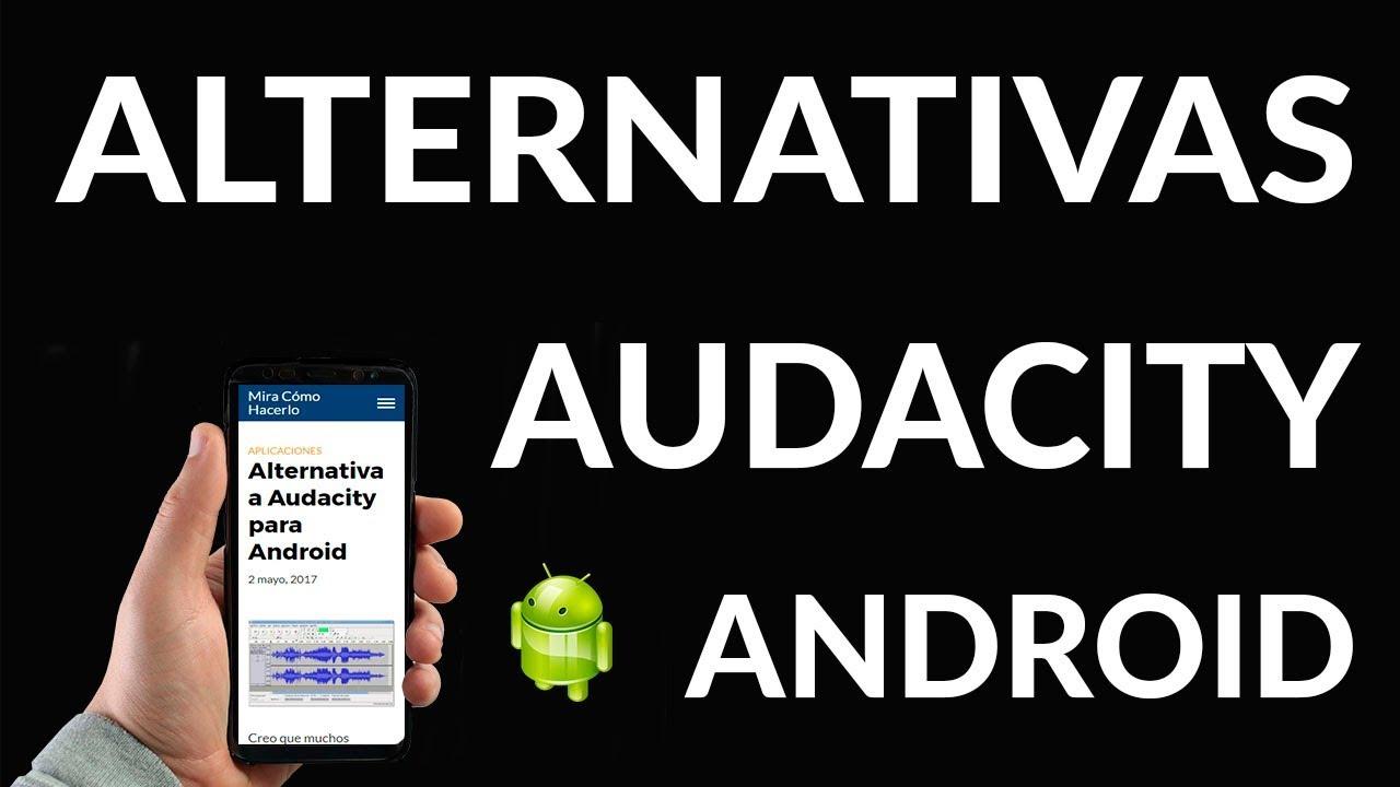 Alternativa a Audacity para Android | Mira Cómo Hacerlo