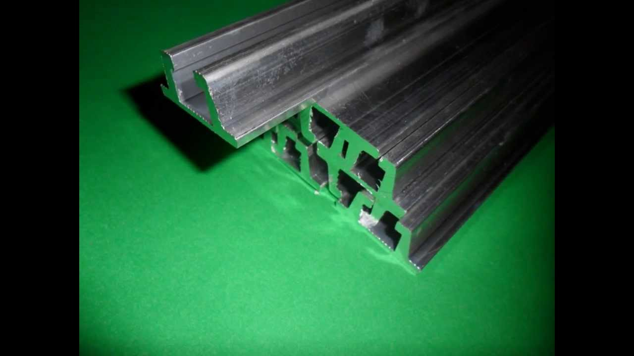 Guia lateral de alum nio para esteiras transportadoras - Guia de aluminio ...