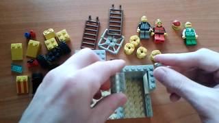 Как сделать ПОЛИЦЕЙСКИЙ УЧАСТОК из ЛЕГО. How to make Lego Police Station