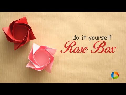 DIY: A Rose Box Container