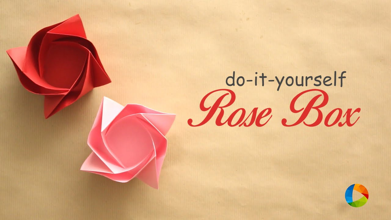 Diy a rose box container youtube youtube premium solutioingenieria Choice Image