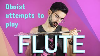 Ep. 3: Oboist attempts to play FLUTE (featuring Terry Lim!)