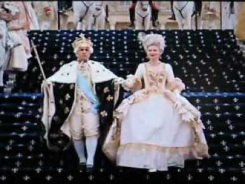 Maria Antoinette film coronation scene
