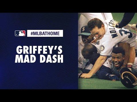 1995 ALDS Game 5: Yankees Vs. Mariners (Griffey Jr's Winning Run) | #MLBAtHome