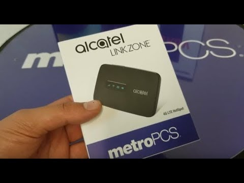 Alcatel Linkzone Mobile Hotspot for MetroPCS by Rohit Gupta