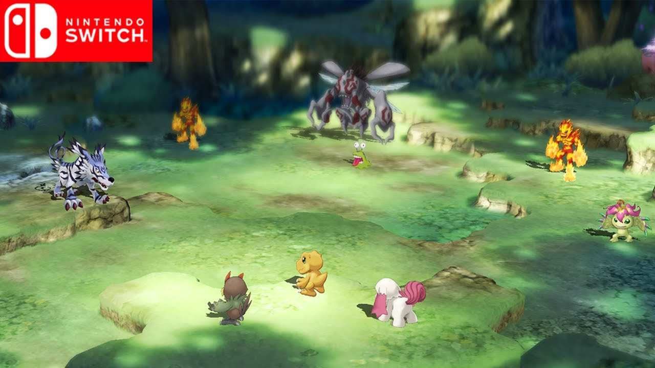 Digimon Survive Upcoming Nintendo Switch Youtube