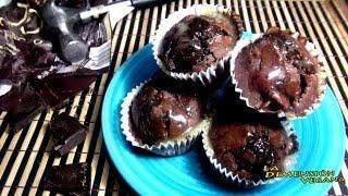 Decadence Chocolate Cherry Muffins