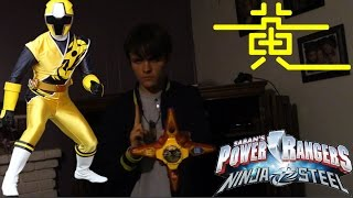 Power Rangers Ninja Steel Yellow Ranger Morph